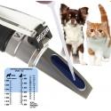 Рефрактометр клинический (ветеринарный для определения плотности мочи, определение концентрации белка в сыворотках)  МЕГЕОН 72019
