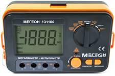 Мегаомметр (измеритель сопротивления изоляции) МЕГЕОН 131100