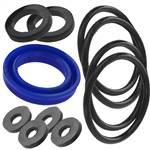 Комплект прокладок для электрического опрессовочного насоса МЕГЕОН 98160К