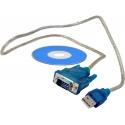 Кабель-адаптер USB-RS232 для подключения измерительных приборов к компьютеру